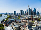 Germany, Hesse, Frankfurt, Skyline, financial district, old town, Roemer and Dom-Roemer Project - AMF06078