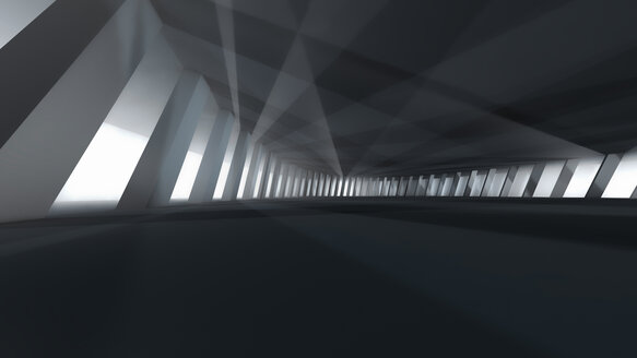Visualisation of an abstract interior architecture, 3D Rendering - SPCF00276