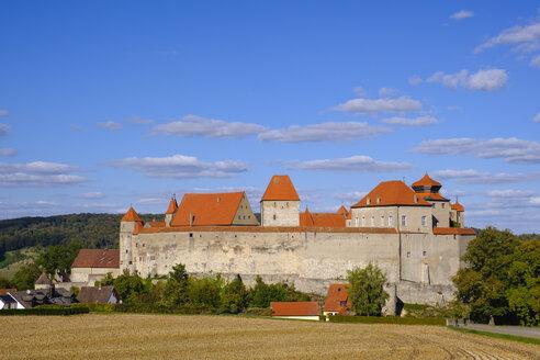 Germany, Bavaria, Swabia, Harburg, Harburg Castle - SIEF08042