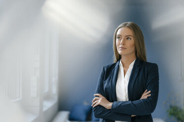Portrait of serious young businesswoman - KNSF05033