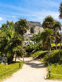Mexico, Yucatan, Riviera Maya, Quintana Roo, Tulum, Archaeological ruins of Tulum - AMF06088