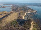 Indonesia, Lombok, Aerial view of coast near Kuta - KNTF02277