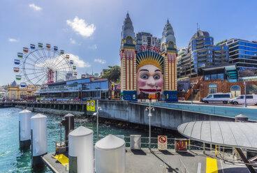 Australia, New South Wales, Sydney, Coney Island, Luna Park - THAF02297