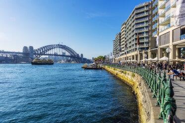 Australia, New South Wales, Sydney, Sydney Harbour Bridge - THA02315