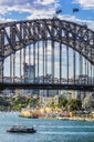 Australia, New South Wales, Sydney, Harbour Bridge and Coney Island, Luna Park - THAF02324