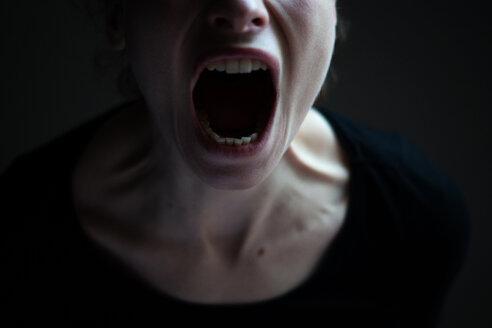 Screaming face - INGF03729