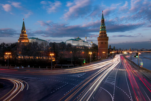 Moscow Kremlin and Moskva River in Russia - LUXF02029
