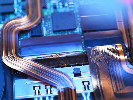 Close up of a laptop mother board - ABRF00229