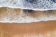 Spain, Asturias, Aerial view of beach from above - MGOF03821