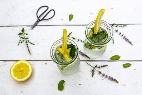Infused water with mint and lemon, detox - SARF03961