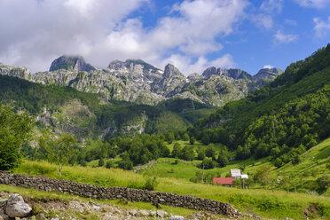 Albania, Shkoder County, Albanian Alps, Kelmend Region, Lepushe - SIEF08100