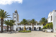 Spain, Balearic Islands, Lanzarote, San Bartalome, Townhall and city theater - MABF00498