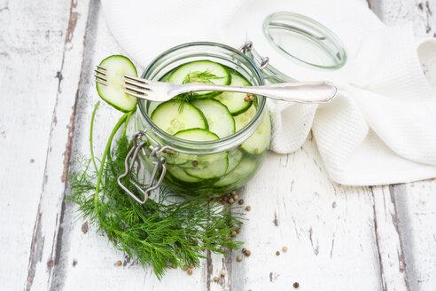Pickled cucumber, swedish pressgurka, with dill - LVF07529