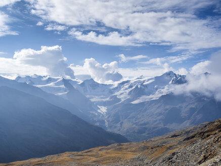 Italy, Trentino, Monte Cevedale, Punta San Matteo, Forno glacier - LAF02129