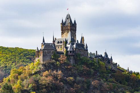 Germany, Rhineland-Palatinate, Cochem, Cochem castle - RUNF00128