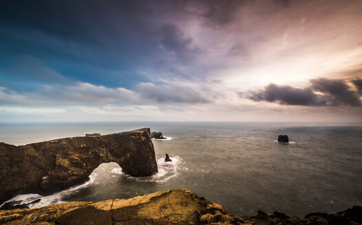A cliff overlooking the horizon over the water - INGF06146
