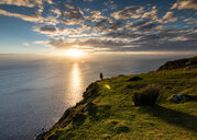 Scenic nature scene of the sea during sunset - INGF06173