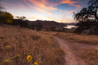 USA, California, Lake Kaweah in the evening - FCF01607