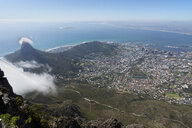 Africa, South Africa, Western Cape, Cape Town, Lion's Head, Signal Hill and Robben Island - WEF00462