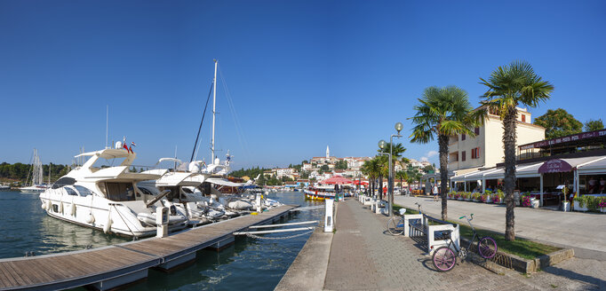 Croatia, Istria, Vrsar, harbour - WW04455