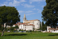 Croatia, Istria, Bale, Old town, Parish Church San Giuliano - WWF04464
