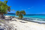 Vanuatu, Mystery Island, beach, south pacific - THAF02333