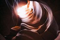 Rock formations at Antelope canyon - CAVF54982