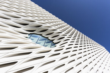 USA, Los Angeles, part of facade of Broad Contemporary Art Museum - FC01650
