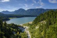 Germany, Upper Bavaria, Sylvenstein Dam, Schuerpfengraben - LBF02238