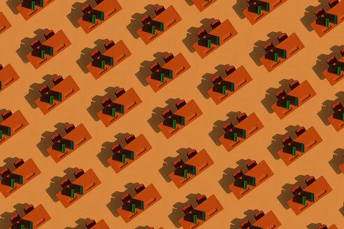 3D Illustration, row of desks - ERRF00061