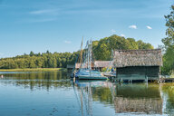 Germany, Mecklenburg-Western Pomerania, Zarrentin, Lauenburg Lakes Nature Park, Lake Schaalsee - FRF00771