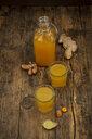 Ginger shot with curcuma - LVF07555
