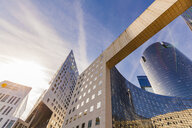 France, Paris, La Defense, modern office towers - WD04895