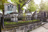 France, Paris, Pere Lachaise, tomb of Moliere - WD04898