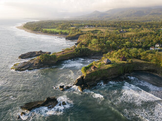 Indonesia, Bali, Aerial view of Balian beach - KNTF02353