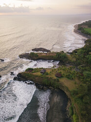 Indonesia, Bali, Aerial view of Balian beach - KNTF02356
