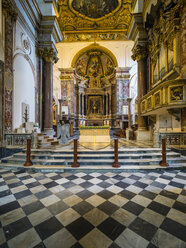 Italy, Campania, Amalfi, Cathedral of Sant'Andrea, interior view - AM06262