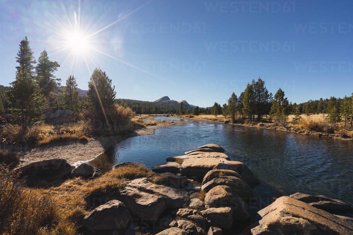 USA, California, Yosemite National Park, Tuolumne meadows against the sun - KKAF03019 - Kike Arnaiz/Westend61