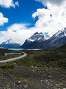 Chile, Patagonia, Torres del Paine National Park, Cerro Paine Grande and  Torres del Paine, Lago Nordenskjold - AMF06286