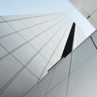 Low angle view of building against clear sky. - INGF07723