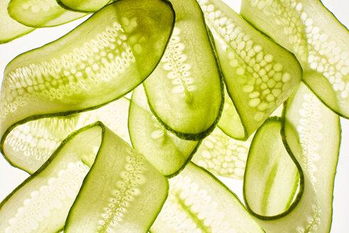 Thin cucumber slices - KSWF02003