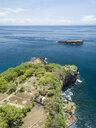 Indonesia, Bali, Karangasem, Aerial view to Pulau Paus Island - KNTF02404