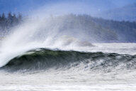 Waves splashing in sea - CAVF57155