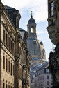 Germany, Dresden, view to Church of Our Lady - JATF01083