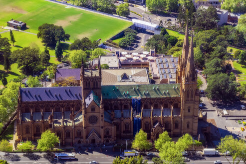 Australia, New South Wales, Sydney, St Marys Cathedral - THAF02369