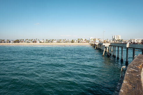 USA, California, Los Angeles, Venice beach, pier - SEEF00047