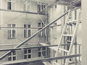 Scaffold on a construction sitr, Berlin, Germany - CMF00869