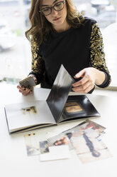 Young designer at work in an atelier - AFVF02049