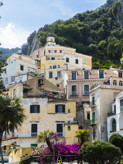 Italy, Amalfi, view to houses - AM06335