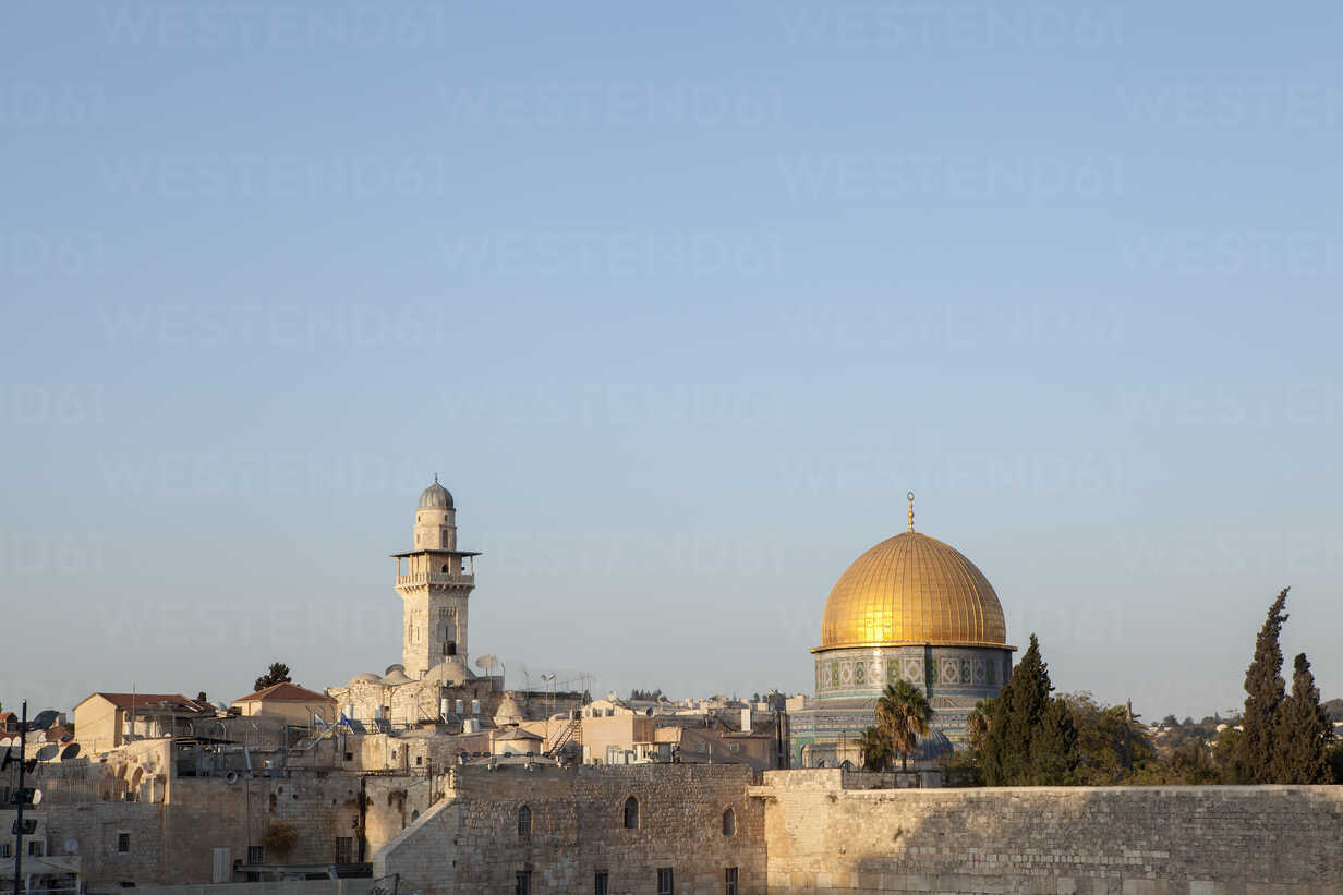 Israel, Jerusalem, Old town, Dome of the rocks - PSTF00270 - Petra Stockhausen/Westend61